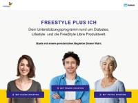 """Abbott launcht """"FreeStyle plus Ich"""" – das erste Onlineportal für FreeStyle Libre Nutzer/-innen"""