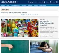 """Relaunch der """"Ärzte Zeitung"""" online"""