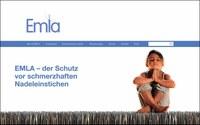 """Wegener Werbung baut Produkt-Website für """"Emla"""""""