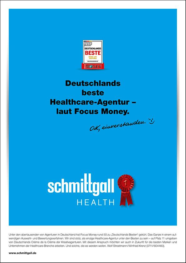 """Schmittgall Health unter """"Deutschlands Besten"""""""