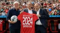 Barmenia: Vorzeitige Verlängerung des Sponsoren-Vertrages min Bayer 04 Leverkusen