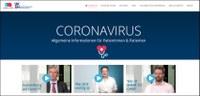 Corona-Webseite mit vielen informativen Videoclips jetzt online
