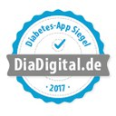 Prüfsiegel für Diabetes-Tagebuch-App