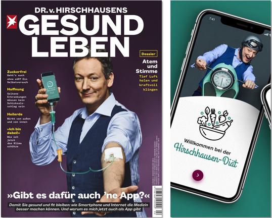"""Neue App: """"Hirschhausen-Diät"""" to go"""
