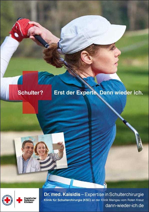 Frankfurter Rotkreuz-Kliniken starten Kampagne zur Schulterchirurgie
