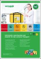 Gams & Schrage Healthcare Group verpackt Versapak Labortaschen in neuer Aufmachung