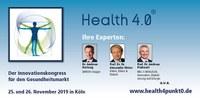 Health 4.0 will Innovationsfähigkeiten präsentieren