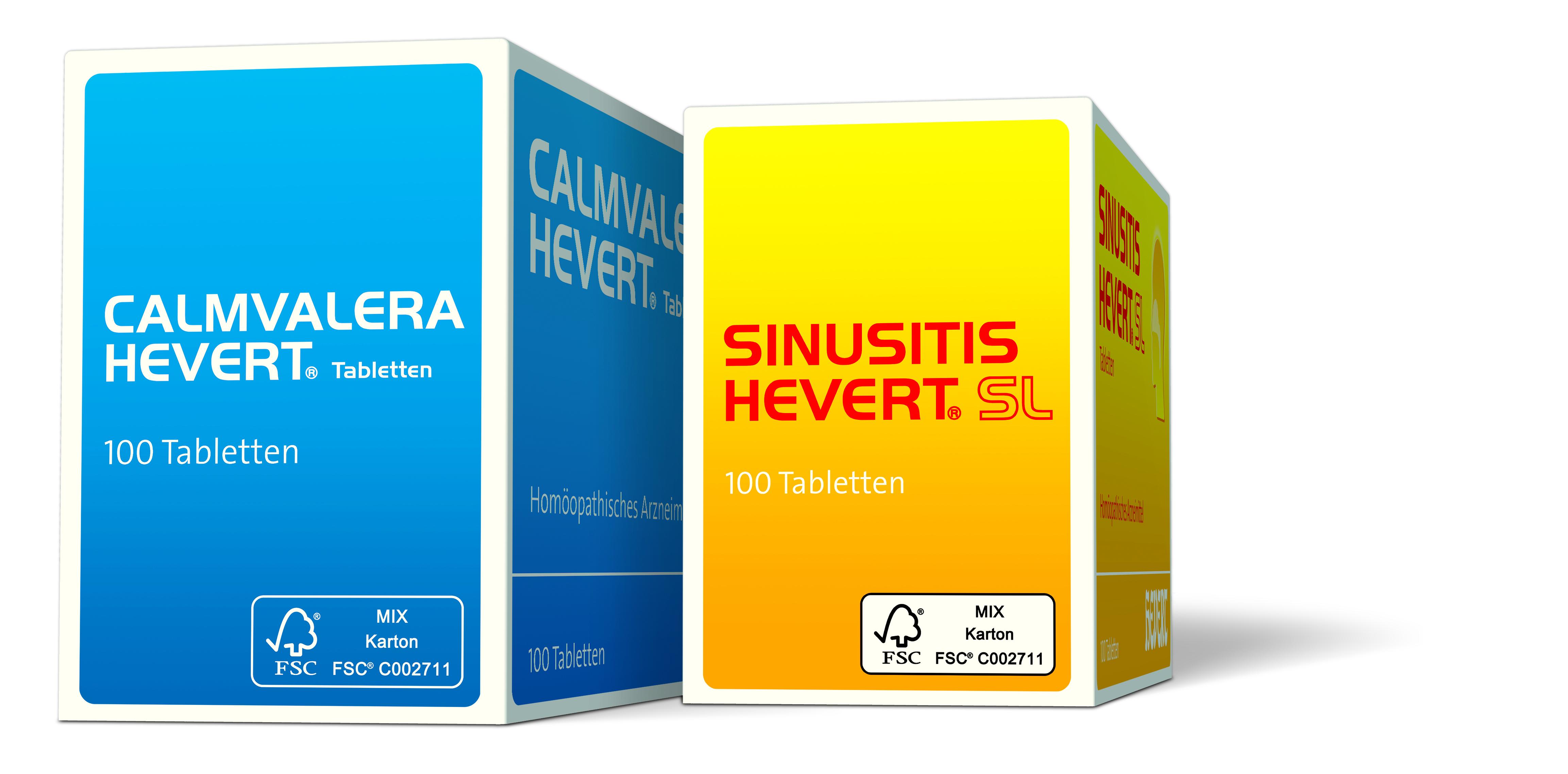 Hevert stellt auf umweltfreundliche Packmittel um