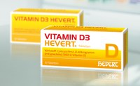 Hevert-Vitamine in neuem Packungsdesign