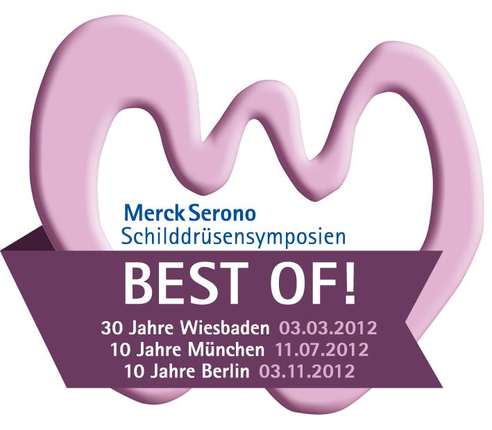 Jubiläumskonzept für die Schilddrüsen-Symposien von Merck Serono
