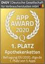 Linda-App beim App-Award 2020 der DtGV ausgezeichnet