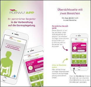 """meusel healthcare entwickelt App für """"Plenvu"""" von Norgine"""