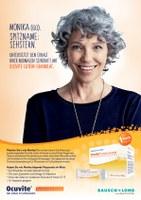"""Neue Werbekampagne für das """"Ocuvite""""-Produktsortiment:"""