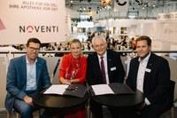 Noventi, MVDA und Linda gründen Joint Venture