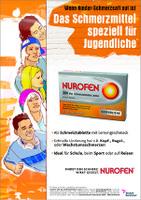 """""""Nurofen"""" mit Schmittgall gegen den Schmerz der Jugend"""