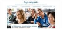 Online-Magazin bringt Geschichten rund um die hsg