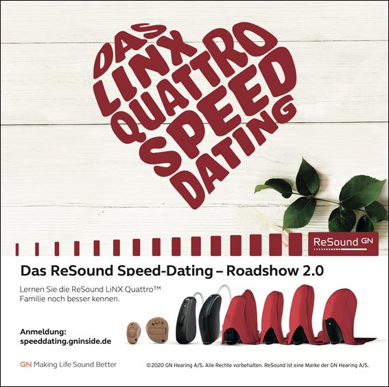 """Speed Dating für Besserhörer: Innovationstour für Premium-Hörgerät """"ReSound LiNX Quattro"""""""