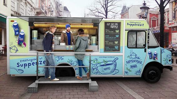 """""""Tempo-Foodtruck"""" macht mobil gegen Viren"""