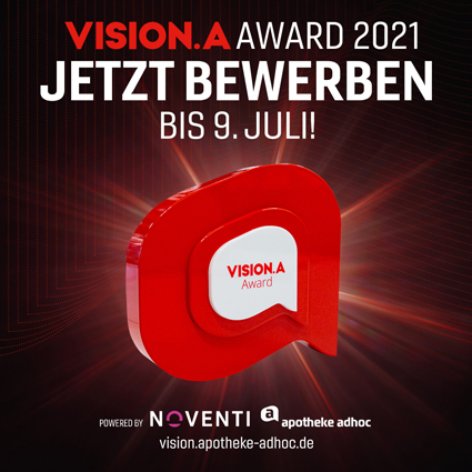 Vision.A Awards 2021: Jetzt bewerben