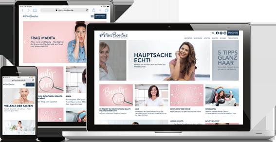 """von Mende entwickelt Content-Kampagne """"MerzBeauties"""""""