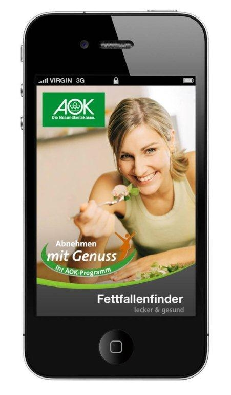 wdv gruppe entwickelt abnehmen mit genuss app f r die aok pharma relations. Black Bedroom Furniture Sets. Home Design Ideas