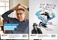 #wirbleibenzuhause: Scholz & Friends kommuniziert für das BMG