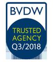 """xmachina mit dem """"Trusted Agency""""-Qualitätszertifikat ausgezeichnet"""